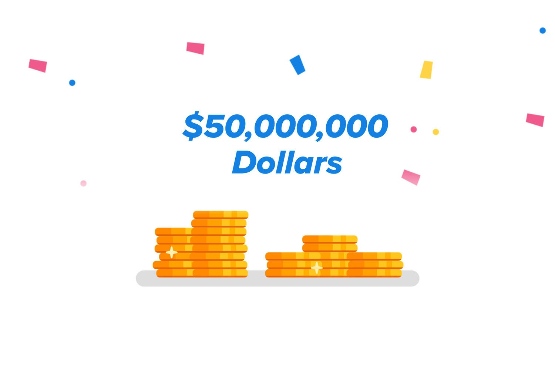 $50,000,000 in lottery winnings on Jackpocket