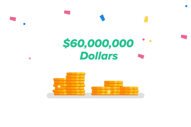 $60 million in lottery winnings on Jackpocoket app