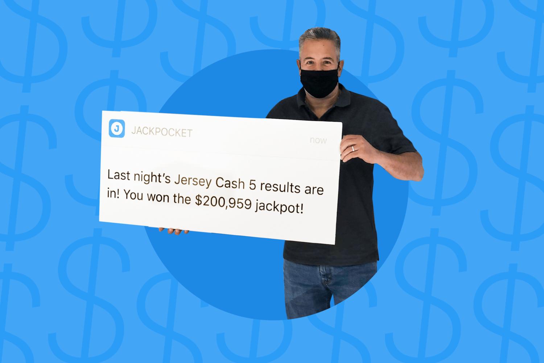 Jersey Cash 5 jackpot