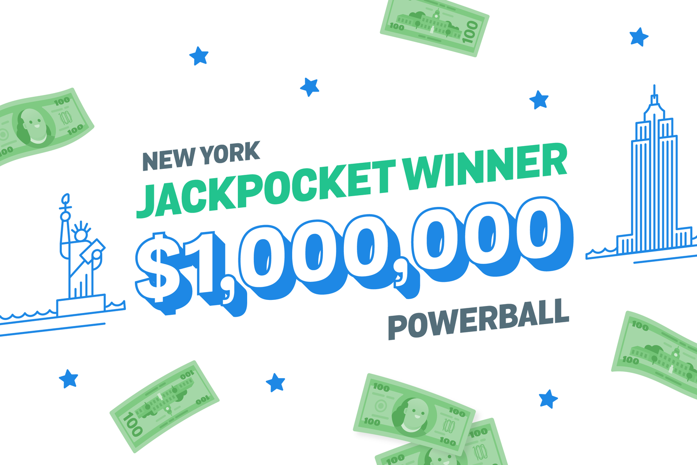 New Yorker wins $1 million on Jackpocket app