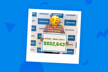 $652,643 Jersey Cash 5 Winner Ordered Their Ticket on Jackpocket
