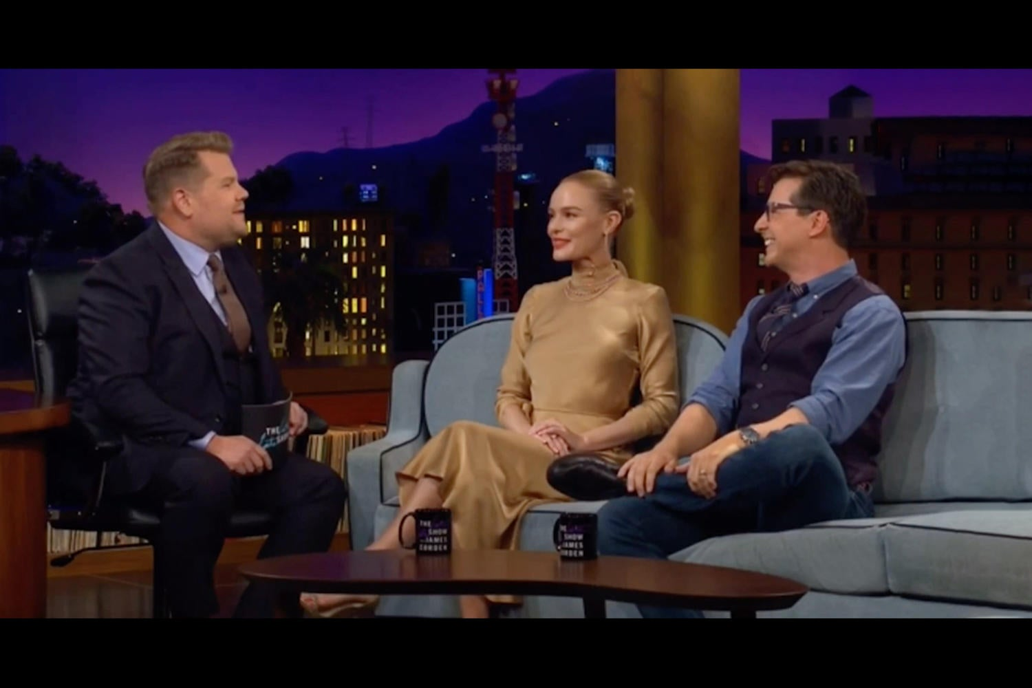 Sean Hayes on The Late Late Show