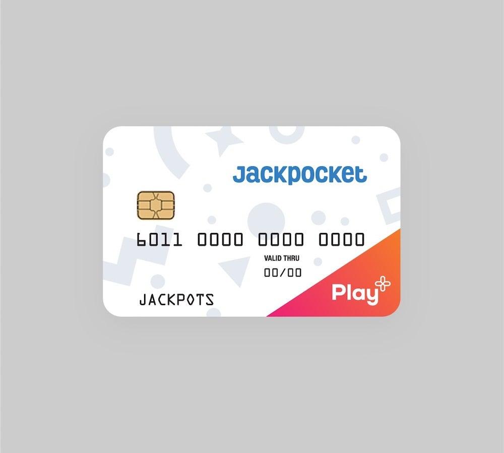 Jackpocket-branded Play+ card
