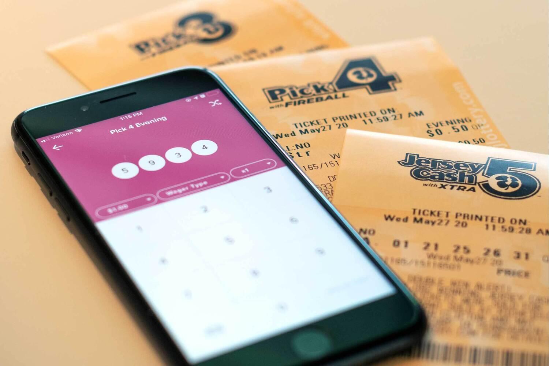 NJ Cash 5 on Jackpocket App