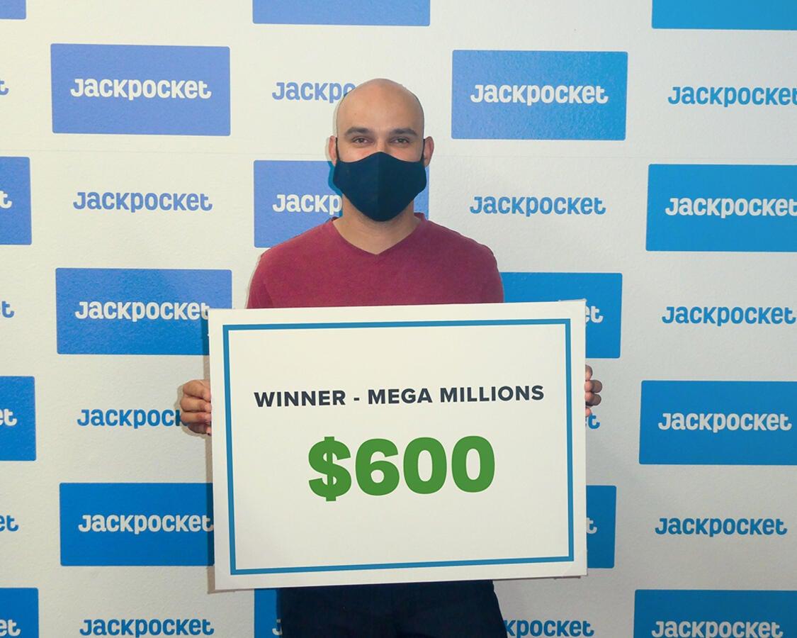 Jeramy won $600 playing Mega Millions