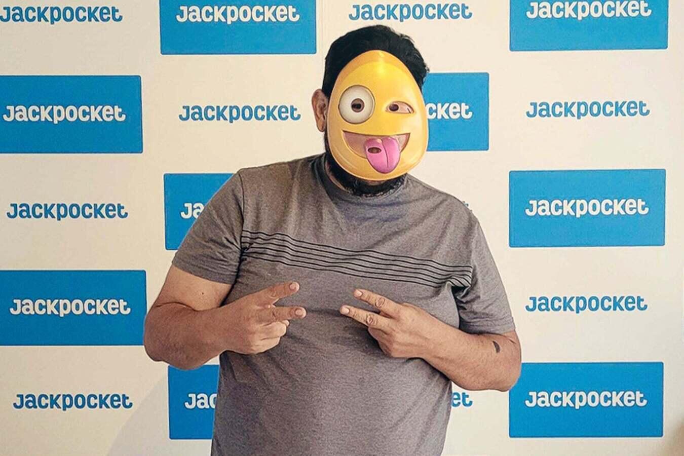 Jaime won the Texas Two Step jackpot on Jackpocket