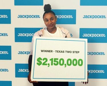 $2M Two Step jackpot winner on Jackpocket app